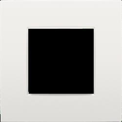 Plaque de recouvrement (60mm) simple